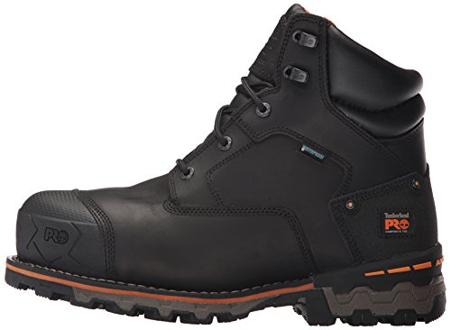 Timberland PRO Men's Boondock 6'' Composite Toe Waterproof Industrial and Construction Shoe, Black Full Grain Leather, 10 M US by Timberland PRO (Image #5)
