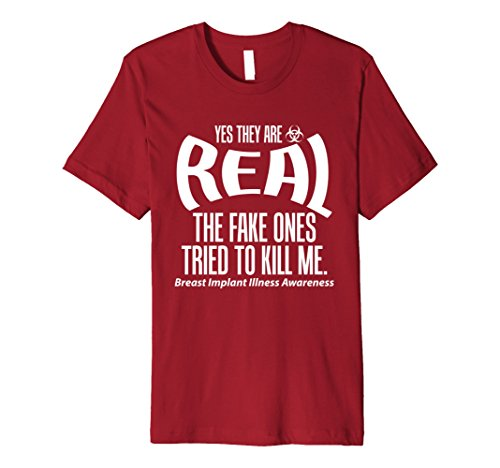 Men's Yes They are Real The Fake Ones Tried to Kill Me T ...