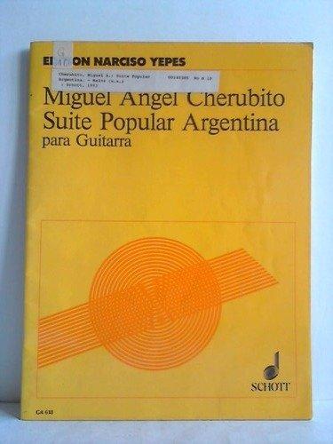 Suite Popular Argentina para Guitarra: Amazon.es: Cherubito ...