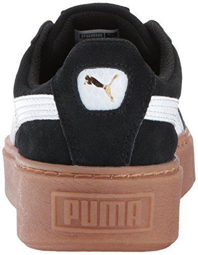 Unisex Kid Us Puma Little White M Platform 5 puma kids Black Suede Snk 12 gqqdaO4w