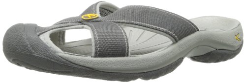 KEEN Women's Bali Sandal,Magnet/Neutral Gray,8.5 M US