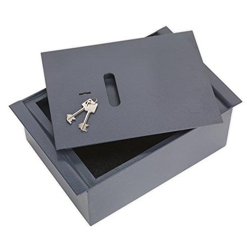 2 opinioni per Sealey SKFS01- Cassaforte da pavimento con chiave, in acciaio, misure: 260 x 400