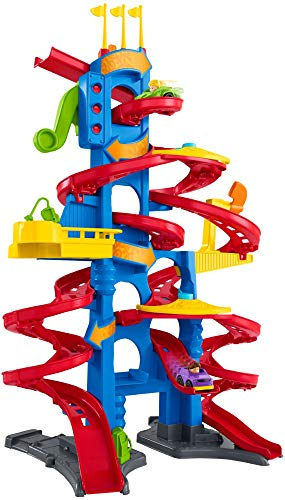 Fisher-Price Little People Take Turns Skyway (Car Ramp Toy)