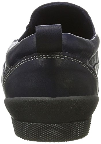 Andrea Conti Women's 0342727 Loafers Blue (Navy 168) free shipping affordable perfect how much for sale discounts cheap price 64Z7iW