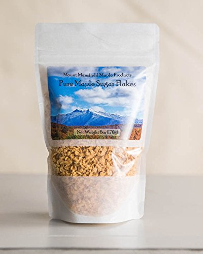 Mansfield Maple Pure Maple Sugar Flakes 6oz Bag