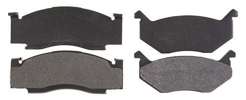 Raybestos PGD84M Professional Grade Semi-Metallic Disc Brake Pad Set