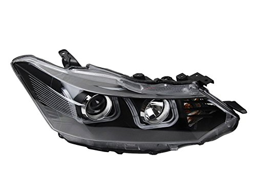 GOWE Car Styling For Toyota Vios headlights 2014-2016 Vios led headlight Head Lamp led drl projector headlight H7 hid Bi-Xenon Color Temperature:6000K Wattage:55W 1