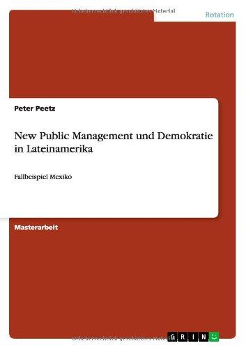 Download New Public Management und Demokratie in Lateinamerika (German Edition) pdf