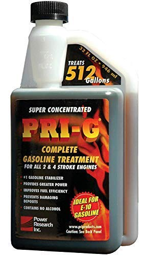PRI Fuel Stabilizer For Gasoline 32oz Power Output Reduces HC/NOx Emissions by Crislan         (Image #1)