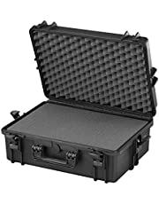 Max MAX505S IP67 Rated Waterproof Durable Watertight Equipment Photography with Hard Carry Plastic Case/Pick and Pluck Cubed Foam/Flight Case Tool Box