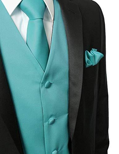 avec Hanky Tuerkis À couleur L De Costume Col Taille V En Cravate Smoking Et Ajustée d5YAd7