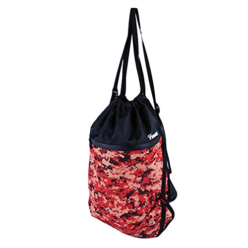 George Jimmy Fashion Train Bag Red Basketball Football Storage Exercise Gym Bag by George Jimmy