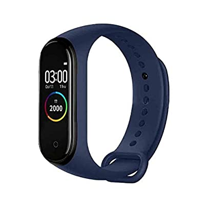 DMMDHR Smart Band Bluetooth 4 0 Waterproof Wristband Color Led Screen Heart Rate Sports Bracelet Blue Australia Estimated Price £60.46 -