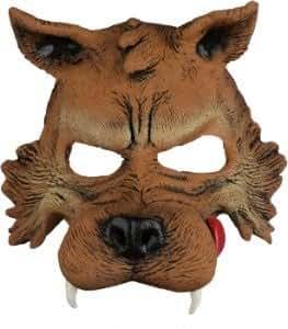 Big Bad Wolf Half Mask Adult Accessory