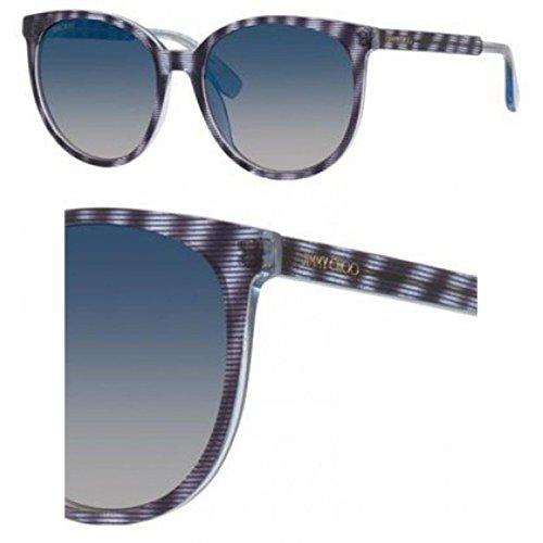 Jimmy Choo Sonnenbrille (REECE/S) LXP/KM: Glitter Striped Blue