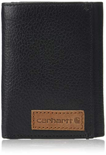 Carhartt Men's Jefferson Trifold, Black, ONE Size
