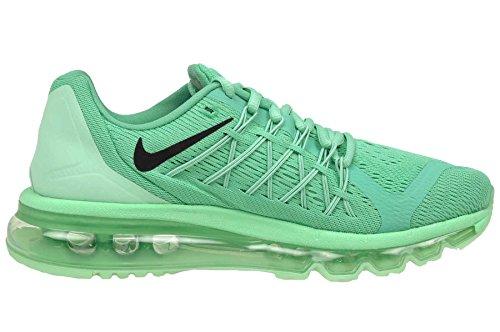Nike Womens Wmns Air Max 2015, Menta / Nero - Verde Glow Menta / Nero - Verde Bagliore
