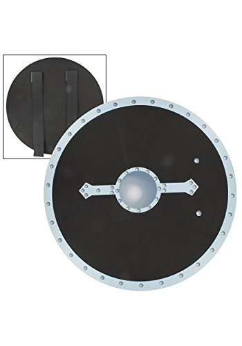 Medieval Rebel Warrior Foam Shield (Medieval Foam Larp Shield)