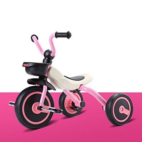 A&Dan Bicyclettes Pour Enfants, Bicyclette Pliable Pour Enfants Bicyclette Pour Enfants 2-5 Ans,Pink