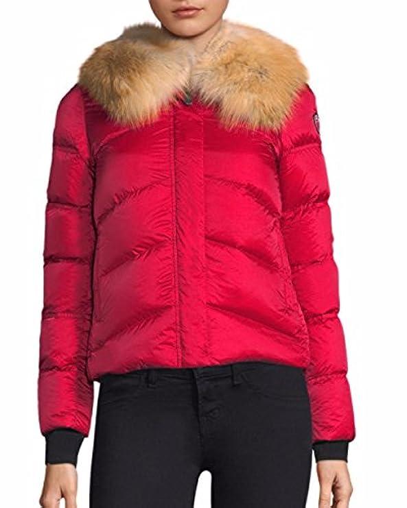 Con Piumino Post Vera Fur Greylock rosso Invernale Ks Card Volpe x0qn0ZpS4