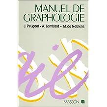MANUEL DE GRAPHOLOGIE