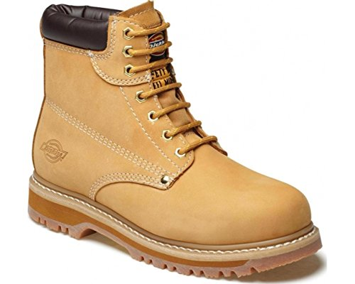Dickies FA23200-HN-13 Cleave land Super Safety Boot, Size 13, Honey