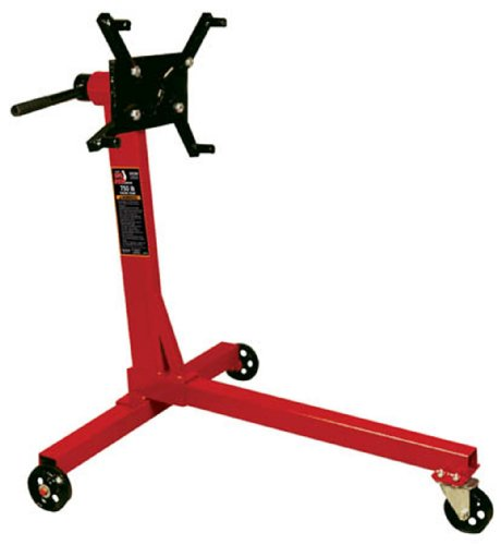 Torin Big Red Steel Rotating Engine Stand: 750 lb Capacity