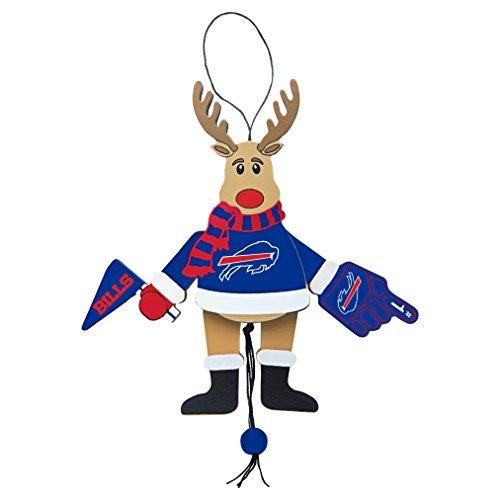 NFL Buffalo Bills Wooden Cheer Ornament