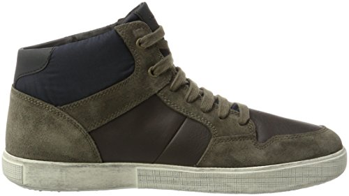 Abx Taiki Gris B anthracite Montantes Geox Baskets A U taupe Homme 64qwxnPZO