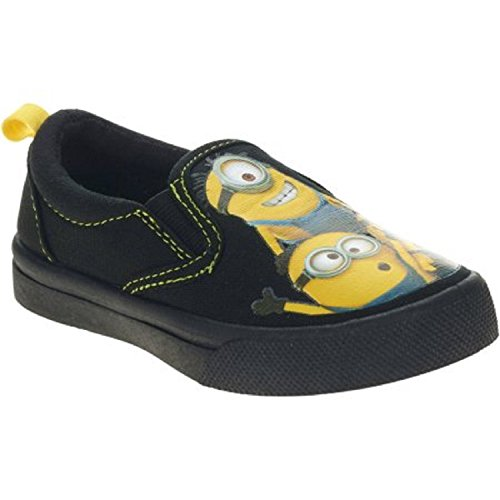 Despicable Me Boys Casual Canvas Shoe (Med/9) (Despicable Me Shoes)