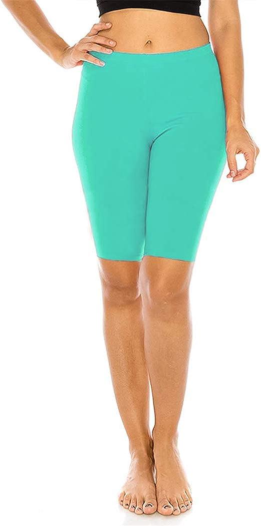 FUNGO Legging Femmes 1//2 Short Leggings De Sport Yoga Fitness Pantalon F12