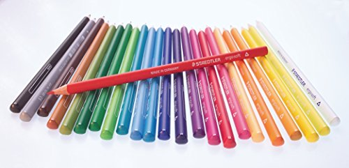 Staedtler Ergosoft Coloured Pencil - Pink (Pack of 12)