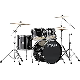 "Yamaha RDP0F5BGG Rydeen 5pc Shell Pack with 20"" Bass Drum, Burgundy Glitter 3"