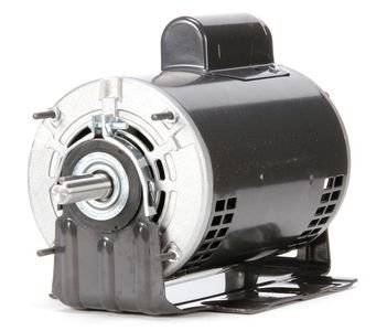 Dayton 3/4 HP Direct Drive Blower Motor, Capacitor-Start, 1725 Nameplate RPM, 115/208-230 Voltage, Frame 56 - 4YU35 (56 Frame Capacitor)