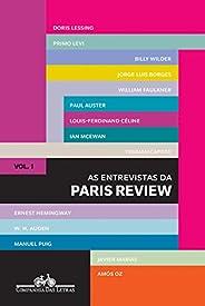 As entrevistas da Paris Review: Vol. 1
