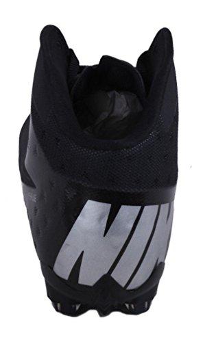 Nike Damp Talon Elite 3/4 Herre Sort / Metallisk Sølv Fodbold Klamper Sort / Metallisk Sølv 7NTLrD