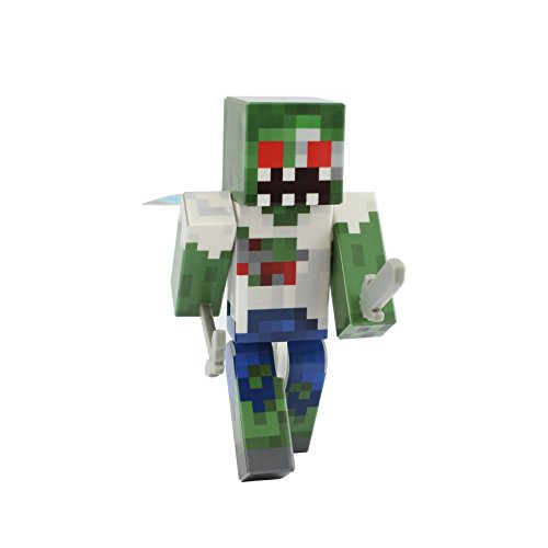 EnderToys Zombie Action Figure Toy, 4 Inch Custom Series Figurines]()