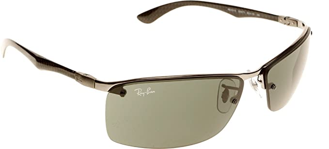 4519475cbe4 Ray-Ban Carbon Fiber RB8315 004 71 63 Mens Sunglasses  Rayban   Amazon.co.uk  Clothing