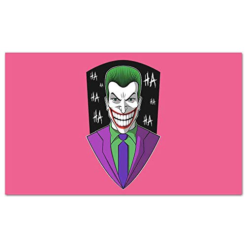 Posters The Clown Prince of Crime Pop Art Wall Decor for Home Office Decorations Framed -