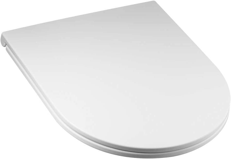 RAK Ceramics RAKSEAT011 Rimless Quick Release Soft Close White Toilet Seat