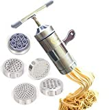 Hewnda Stainless Steel Pasta Maker 5 Noodles Mold Pasta Maker Citrus Juicer