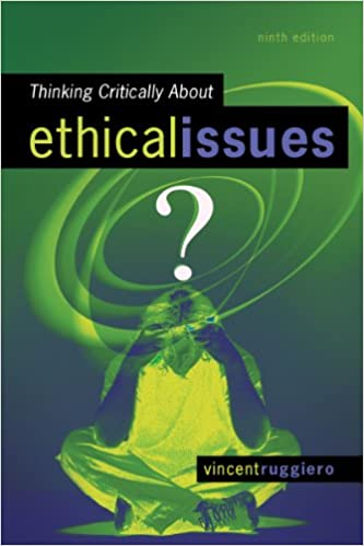 Thinking critically about ethical issues kindle edition by vincent thinking critically about ethical issues 9th edition kindle edition fandeluxe Choice Image