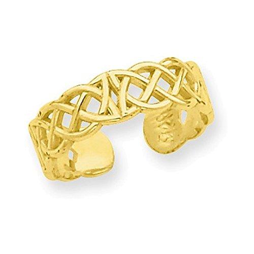 Ring 14k Toe Celtic (14k Celtic Toe Ring)