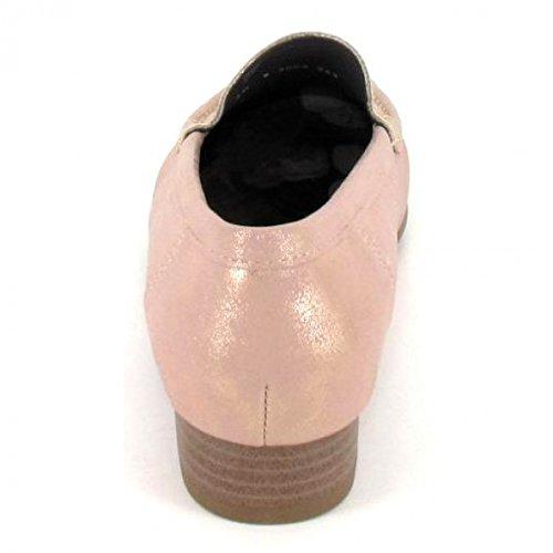 Jenny Ara Atlanta 22-50137-18 Damen Komfort Slipper Halbschuh Extra Weit Braun