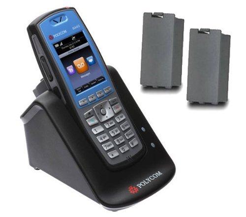 SpectraLink 8450 Blue Handset Dual Charger Bundle (Spectralink Dual Charger)