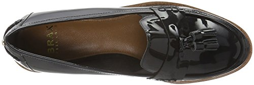 Brax Damen Asti Slipon Slipper Schwarz (Nero)
