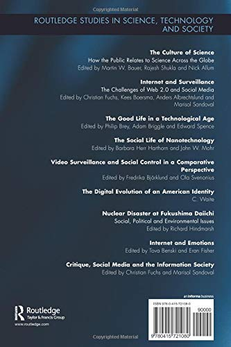Internet and Emotions (Routledge Studies in Science, Technology and Society)