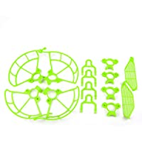 Togather Propeller Guards & Landing Gear Skid & Finger Hand Guards Protection Combo for DJI SPARK (green)