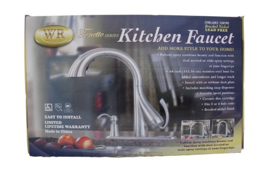 water ridge tonette series kitchen faucet touch on kitchen sink