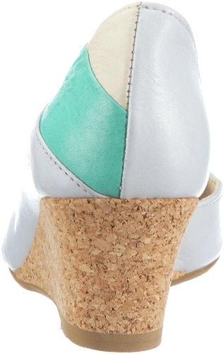Fly London SEAGLE 1PD142124 - Zapatos de vestir de cuero para mujer Azul